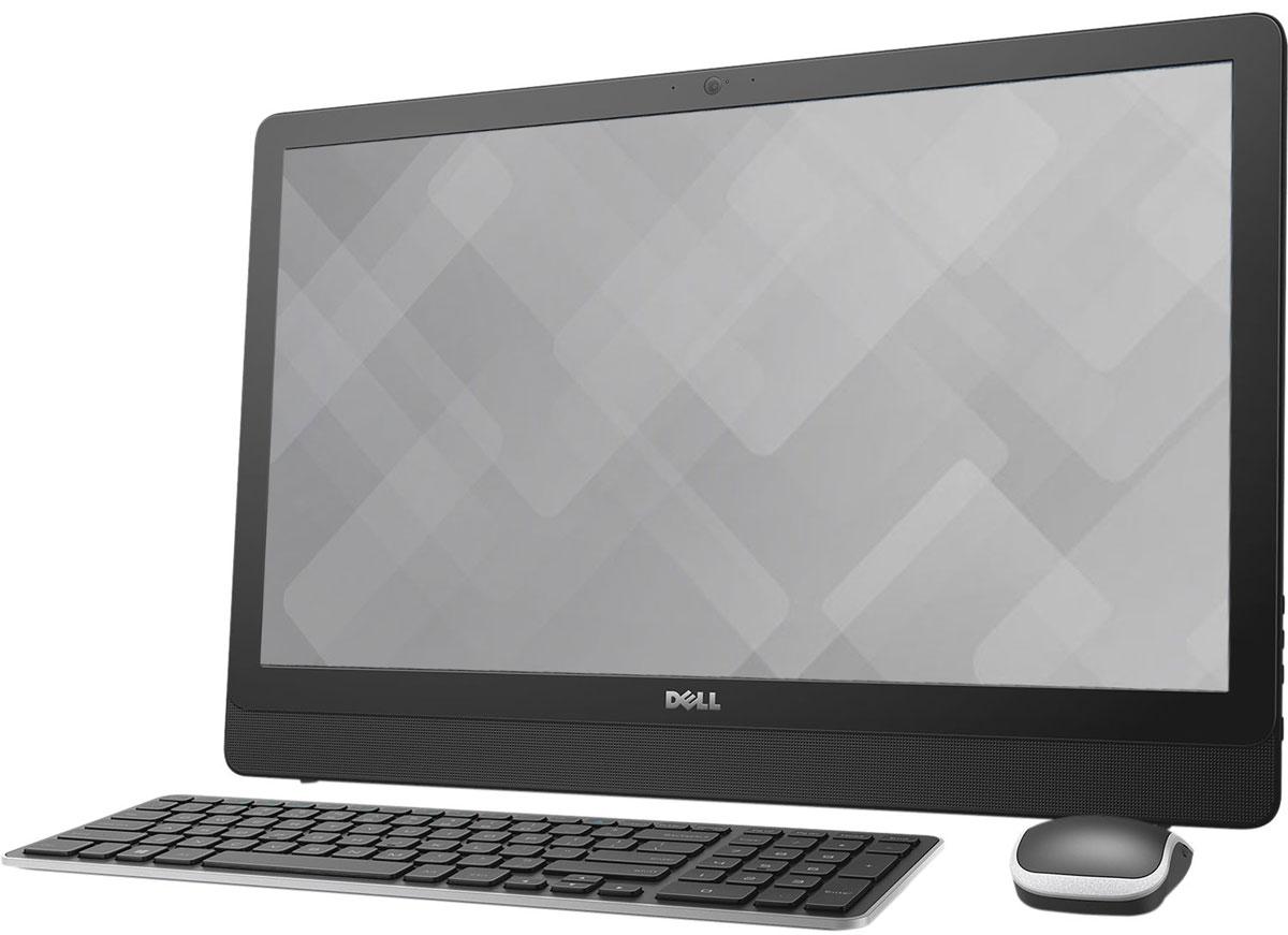 Dell Inspiron 3464-0599, Black моноблок3464-0599Dell Inspiron 3464 отличается дисплеем с диагональю 23,8 дюйма, широкими углами обзора и разрешением Full HD, встроенными динамиками и веб-камерой, адаптивной производительностью и привлекательным тонким корпусом. Это удобный настольный компьютер все в одном, который станет отличной покупкой для всей семьи.Откидная подставка и конструкция, предусматривающая использование всего одного кабеля, позволяют быстро и легко разместить компьютер в любом помещении. Черный корпус компьютера Dell Inspiron 3464 с невероятно тонкой панелью и выполненные в едином стиле с корпусом клавиатура и мышь прекрасно дополнят любой интерьер.Оцените совершенно новый уровень фильмов и игр благодаря процессору Intel Core i3-7100U. Мощный графический адаптер, высочайшая производительность и потрясающее качество изображения выводят мультимедийные возможности компьютера на новый уровень.Dell Inspiron 3464 с дисководом оптических дисков и жестким диском емкостью 1 Тбайт предоставит достаточно места для хранения фильмов, памятных фотографий, материалов школьных проектов и многого другого для всех членов семьи и будет работать без малейших задержек. Реализованная в Dell Inspiron 3464 поддержка технологии беспроводной связи 802.11ac, характеризующейся самой протяженной зоной покрытия сети и высочайшей скоростью передачи, позволит вам общаться с друзьями и близкими или быстро загружать музыку и фильмы. Несколько портов USB 2.0 и 3.0, выход HDMI, устройство считывания карт памяти 4-в-1 и порт Ethernet обеспечивают эффективное подключение других устройств. Встроенные стереодинамики с поддержкой технологии Waves MaxxAudio и широкоформатная веб-камера с разрешением HD обеспечивают превосходные ощущения при общении по Skype с близкими и друзьями.Точные характеристики зависят от модификации.Моноблок сертифицирован EAC и имеет русифицированную клавиатуру и Руководство пользователя.