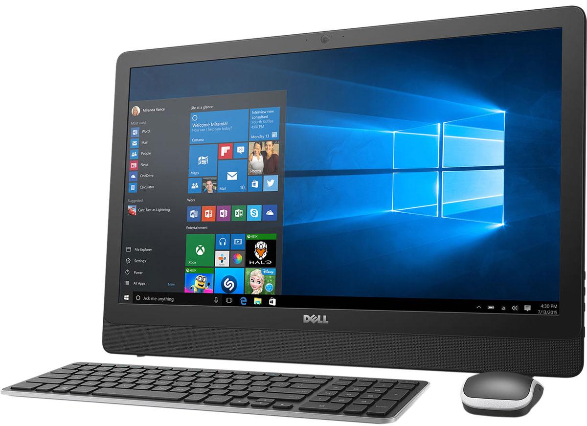 Dell Inspiron 3464-9920, Black моноблок3464-9920Dell Inspiron 3464 отличается дисплеем с диагональю 23,8 дюйма, широкими углами обзора и разрешением Full HD, встроенными динамиками и веб-камерой, адаптивной производительностью и привлекательным тонким корпусом. Это удобный настольный компьютер все в одном, который станет отличной покупкой для всей семьи.Откидная подставка и конструкция, предусматривающая использование всего одного кабеля, позволяют быстро и легко разместить компьютер в любом помещении. Черный корпус компьютера Dell Inspiron 3464 с невероятно тонкой панелью и выполненные в едином стиле с корпусом клавиатура и мышь прекрасно дополнят любой интерьер.Оцените совершенно новый уровень фильмов и игр благодаря процессору Intel Core i3-7100U. Мощный графический адаптер, высочайшая производительность и потрясающее качество изображения выводят мультимедийные возможности компьютера на новый уровень.Dell Inspiron 3464 с дисководом оптических дисков и жестким диском емкостью 1 Тбайт предоставит достаточно места для хранения фильмов, памятных фотографий, материалов школьных проектов и многого другого для всех членов семьи и будет работать без малейших задержек. Реализованная в Dell Inspiron 3464 поддержка технологии беспроводной связи 802.11ac, характеризующейся самой протяженной зоной покрытия сети и высочайшей скоростью передачи, позволит вам общаться с друзьями и близкими или быстро загружать музыку и фильмы. Несколько портов USB 2.0 и 3.0, выход HDMI, устройство считывания карт памяти 4-в-1 и порт Ethernet обеспечивают эффективное подключение других устройств. Встроенные стереодинамики с поддержкой технологии Waves MaxxAudio и широкоформатная веб-камера с разрешением HD обеспечивают превосходные ощущения при общении по Skype с близкими и друзьями.Точные характеристики зависят от модификации.Моноблок сертифицирован EAC и имеет русифицированную клавиатуру и Руководство пользователя.