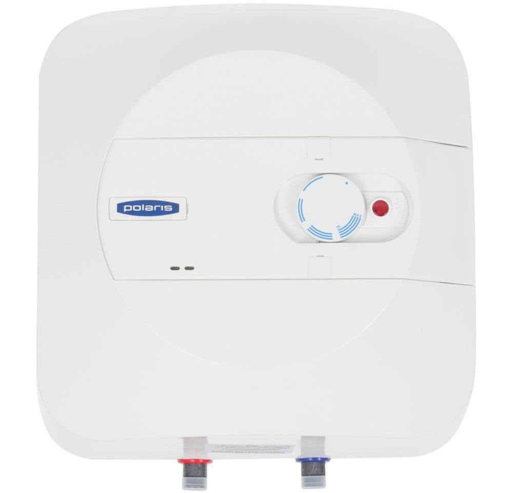 Polaris P 15 (OR) водонагреватель накопительный003163Накопительныйводонагреватель Polaris P 15 (OR) объемом 15 литров и мощностью 1500 Вт быстро нагревает воду. Это компактный водонагреватель с возможностью установки над мойкой (OR). Внутренний бак выполнен из высококачественной эмали, а магниевый анод обеспечивает дополнительную защиту водонагревателя от коррозии. Регулировать температуру нагрева можно с помощью внешнего регулятора, который расположен на передней панели прибора. Водонагреватель имеет прямоугольный эргономичный корпус, благодаря чему он идеально впишется в небольшое пространство. Управление осуществляется с помощью внешнего терморегулятора, расположенного на передней панели. Прибор имеет трехуровневую систему безопасности от перегрева и протечек.