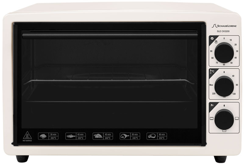 Schaub Lorenz SLE OX3200, Beige мини-печь - Мини-печи
