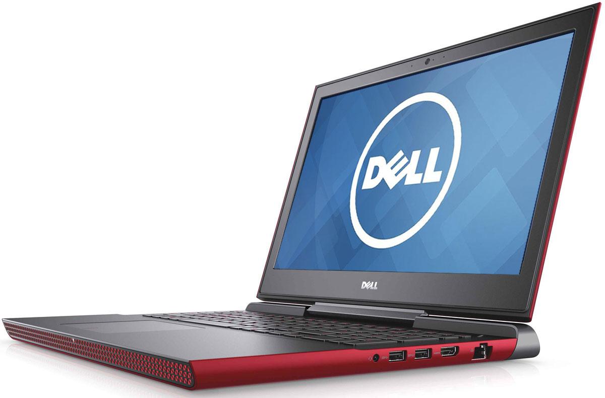 Dell Inspiron 7567, Red (7567-8920)7567-8920Получайте совершенно новые впечатления от развлечений, игр и видео с ноутбуком Dell Inspiron 15 благодаря мощному процессору Intel Core i5 седьмого поколения и графическому адаптеру NVIDIA GeForce GTX1050M.Предотвратите ошибочные нажатия клавиш с помощью клавиатуры с подсветкой, которая поможет вам играть или работать на компьютере даже в темноте. А чувствительная сенсорная панель обеспечит точную поддержку жестов с превосходным временем реакции.Погрузитесь в мир отличного звука с помощью технологии Waves MaxxAudio Pro. Разработанные корпорацией Dell широкополосные и низкочастотные динамики используют все возможности программного обеспечения для формирования звука студийного качества, поэтому вы не упустите ни малейшего оттенка звука.Точные характеристики зависят от модификации.Ноутбук сертифицирован EAC и имеет русифицированную клавиатуру и Руководство пользователя.