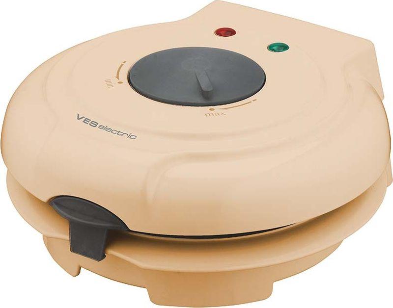 Ves SK-A8-Y вафельницаSK-A8-YВозможность выпечки вафельных коржей, трубочек и рожковМощность 750 ВтТермостатИндикаторы питания и готовностиАнтипригарное покрытиеПластиковый конус-формовка в комплекте