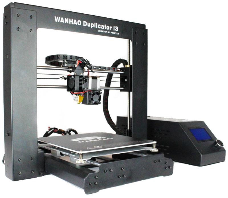 Wanhao Duplicator i3 v 2.1 3D принтерУТ000007050Компания WanHao Precision Casting Co.,Ltd представляет обновленную версию 3D принтера №1 в мире Wanhao Duplicator i3 v 2.1! За 2 года производства серии Di3 было собрано множество отзывов и пожеланий от конечных пользователей, которые помогли производителю сделать обновленную версию более свободной для маневров на 3D просторах.