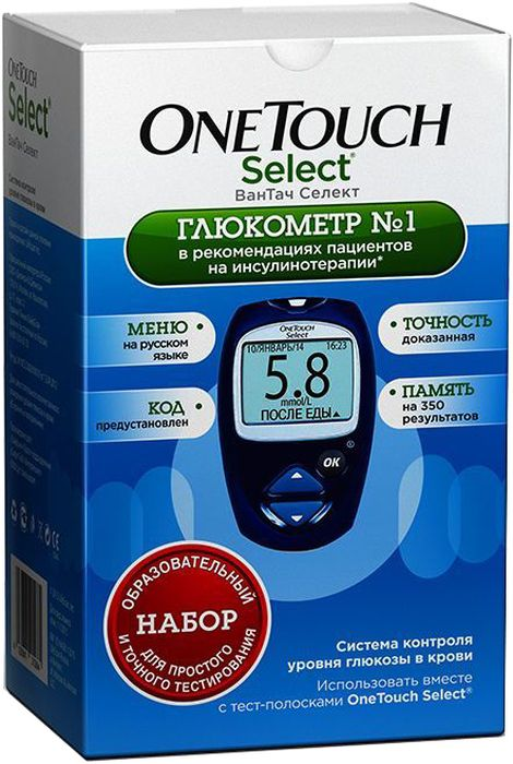 Глюкометр  OneTouch Select  - Диагностика