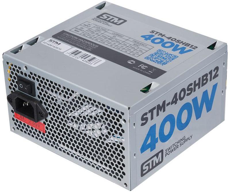 STM 40SHB12 блок питания для игрового компьютера1000205625Блок питания STM 40SHB12 обеспечит бесперебойную работу вашего компьютера. Он изготовлен с применением высококачественных материалов. Высокая производительность делает этот источник питания отличным выбором при сборке ПК.Выполненный из прочного металла, блок питания STM-40SHB12 оснащен мощным вентилятором для охлаждения. Его диаметр составляет 120 мм. Данный вентилятор обеспечивает превосходное охлаждения блока питания и отличается фактически полным отсутствием шума во время своей работы.
