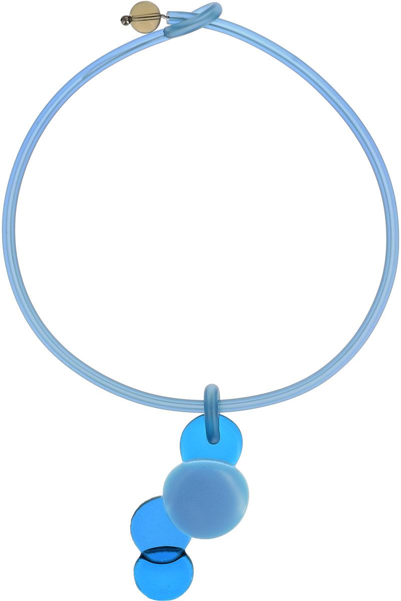 Колье Бруко. Муранское стекло, каучук голубого цвета, ручная работа. Murano, Италия (Венеция)Колье (короткие одноярусные бусы)Колье Бруко.Муранское стекло, каучук голубого цвета, ручная работа.Murano, Италия (Венеция).Размер: полная длина 45 см.Каждое изделие из муранского стекла уникально и может незначительно отличаться от того, что вы видите на фотографии.