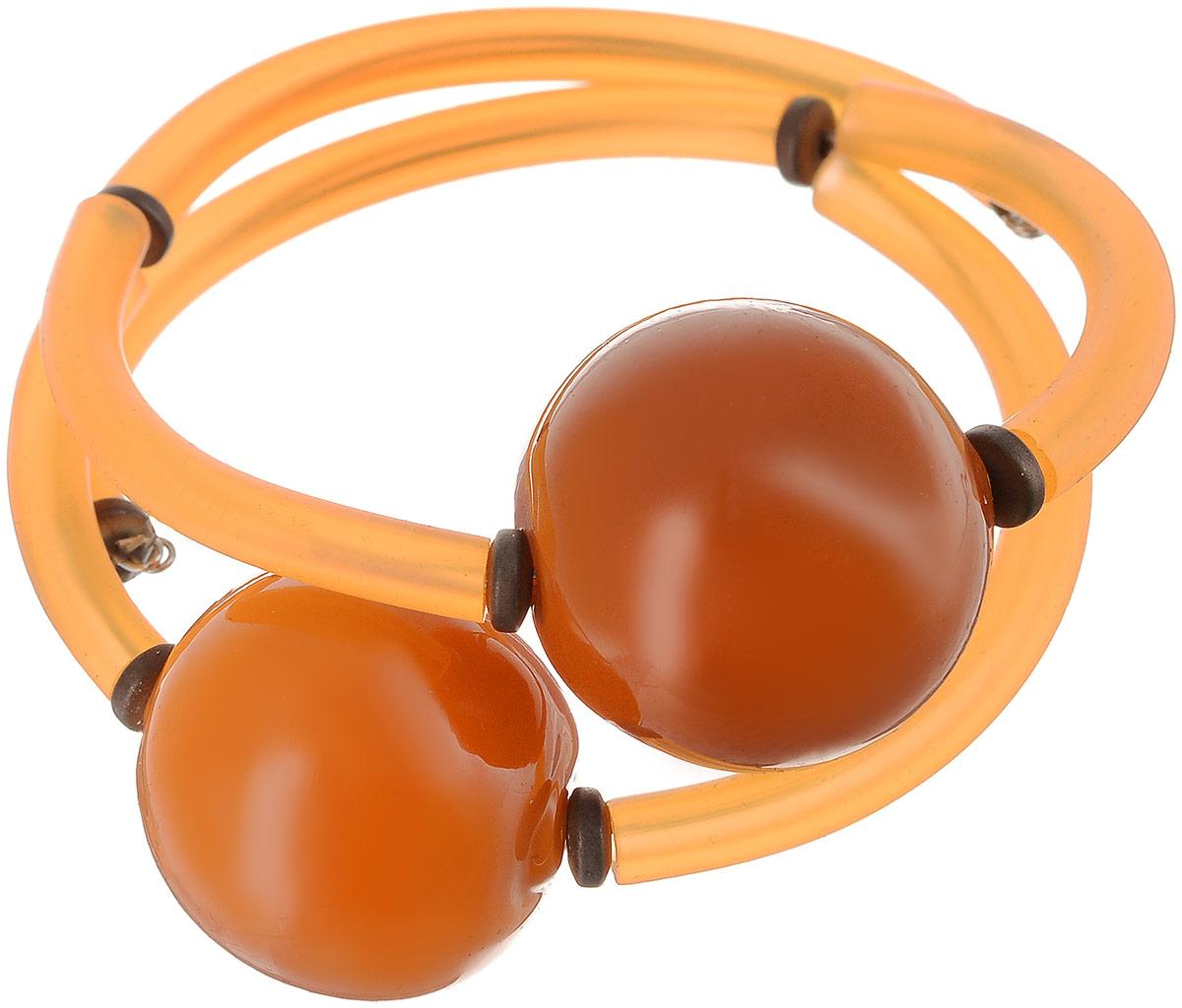 Браслет Абрикос. Муранское стекло, каучук оранжевого цвета, ручная работа. Murano, Италия (Венеция)39864|Серьги с подвескамиБраслет Абрикос.Муранское стекло, каучук оранжевого цвета, ручная работа.Murano, Италия (Венеция).Размер: диаметр 6 см, браслет эластичный подойдет на любой размер.Каждое изделие из муранского стекла уникально и может незначительно отличаться от того, что вы видите на фотографии.