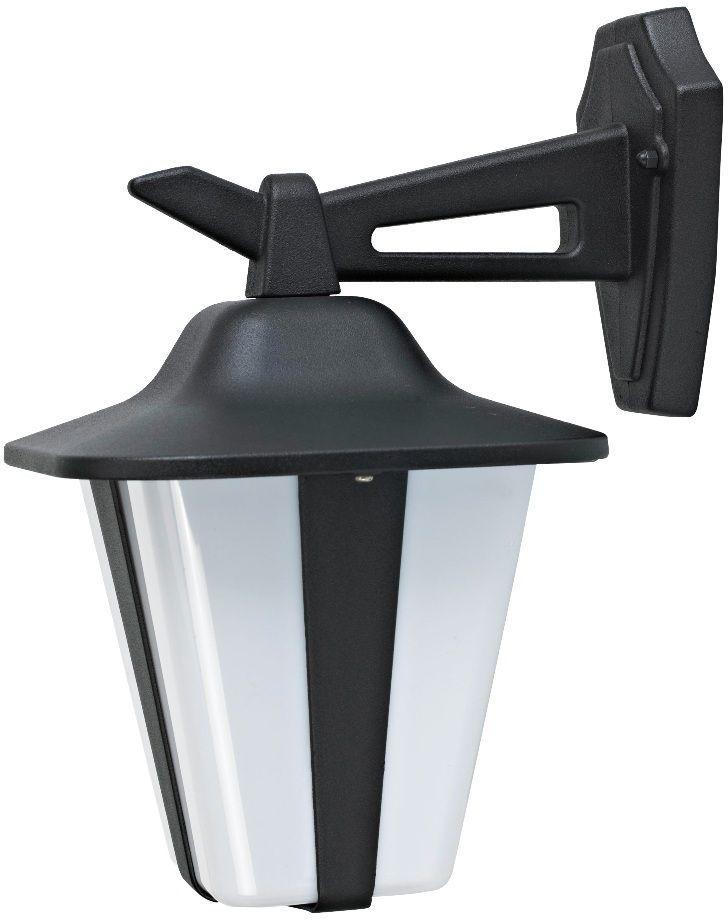 Светильник садовый настенный Duwi Wien, высота 326 мм. 29012 429012 4Настенный садовый светильник Duwi Wien (бра вниз) имеет стильный современный дизайн. Корпус выполнен из литого алюминия, устойчивого к коррозии. Рассеиватель изготовлен из пластика молочного цвета. Задняя крышка снабжена уплотнителем, который надежно защищает электропроводку от внешних воздействий. Изделие имеет монтажный разъем для легкого и быстрого подключения. Возможность использования с любыми лампами, имеющими цоколь E27 (накаливания, энергосберегающими, светодиодными). Светильник работает от сети 220 В, обладает высокой степенью пыле- и влагозащищенности IP44. Крепления, влагозащитные заглушки и кольца в комплекте.Светильники Duwi Wien - идеальное решение для декоративного освещения летних домиков, беседок или садовых дорожек. Садово-парковые светильники под брендом DUWI изготавливаются в соответствии со строгими европейскими стандартами качества.
