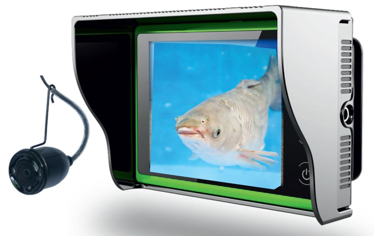 """Подводная камера Rivotek LQ-3215127504Подводная видеокамера с предельно простым управлением, дисплеем 3.2"""" и длиной кабеля 15 метров."""