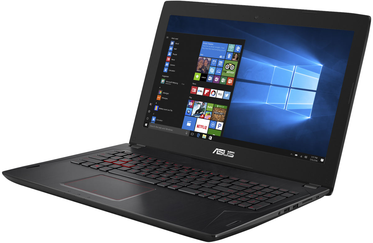 ASUS ROG FX502VM, Black (FX502VM-DM105T) - Ноутбуки