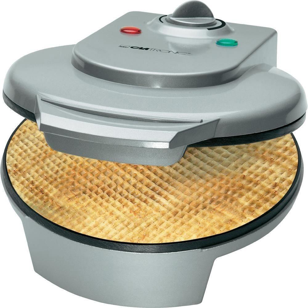 Bomann HA 5017 CB, Silver вафельницаHA 5017 CB silberУдобный кухонный электрический прибор, благодаря высокой мощности и возможности регулировки температуры нагрева, позволяющий быстро и качественно приготовить домашние вафли необходимой степени прожарки. Вафельница снабжена регулируемым термостатом, световым индикатором нагрева и работы и термоизолированной ручкой. В комплект также входит приспособлением для сворачивания вафель в конус.