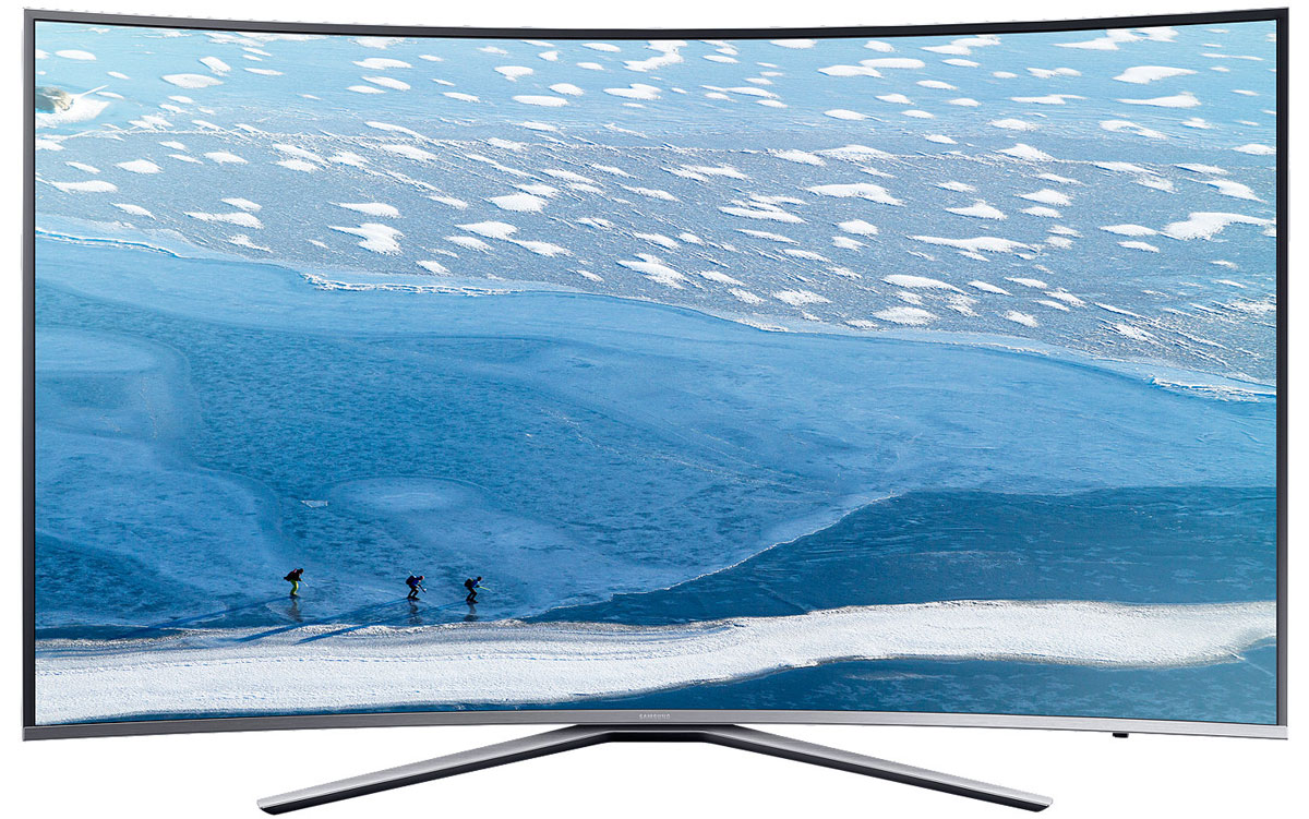 Samsung UE43KU6500U телевизорUE43KU6500UXRUБлагодаря функции HDR Premium при просмотре HDR контента на телевизоре Samsung UE43KU6500U вы сможете разглядеть детали в светлых участках изображения, которые не были видимы раньше. Вы сможете получить впечатления от просмотра HDR контента как в настоящем кинотеатре прямо в своей комнате.Функция Active Crystal Colour с помощью дополнительного источника света преобразует LED матрицу в blue LED. В результате обеспечивается более высокая чистота белого, естественная цветопередача и расширяется палитра цвета. Кроме того, уменьшается и энергопотребление.Ощутите потрясающую детализацию UHD разрешения, в 4 раза превышающее разрешение Full HD. Благодаря естественной цветопередаче и высокой яркости вы откроете для себя совершенно новый мир изображения.Функция Auto Depth Enhancer меняет контрастность отдельных участков изображения, создавая эффект пространственной глубины. Оцените реальный эффект погружения в происходящее на экране.Изогнутые экраны телевизоров Samsung позволят вам оказаться в центре происходящего на экране благодаря более широкому углу обзора и оптимально комфортному расстоянию до экрана.Элегантная серебристая металлическая окантовка экрана и изящная подставка подчеркивают утонченный дизайн телевизора, благодаря чему он отлично смотрится под любым ракурсом.Новый сервис Smart Hub обеспечивает единый доступ ко всем источникам контента – эфирным каналам, интернет-провайдерам, игровым ресурсам, и не только. Теперь вы можете получить доступ к любимому контенту сразу после включения телевизора.Процессор Samsung UHD Picture Engine позволяет улучшить качество изображения до UHD уровня, даже если исходный видеосигнал имеет низкое разрешение. Для этого используется 4-ступенчатый процесс конвертации вашего избранного контента в премиальное качество.Технология локального затемнения фрагментов изображения (UHD Dimming) оптимизирует контрастность, улучшает цветопередачу и повышает четкость изображения.Функция Ultra Clean View ана