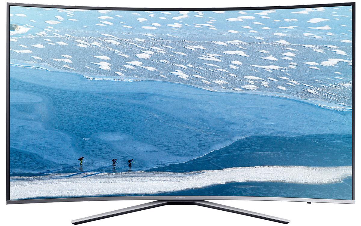 Samsung UE49KU6500U телевизорUE49KU6500UXRUБлагодаря функции HDR Premium при просмотре HDR контента на телевизоре Samsung UE49KU6500U вы сможете разглядеть детали в светлых участках изображения, которые не были видимы раньше. Вы сможете получить впечатления от просмотра HDR контента как в настоящем кинотеатре прямо в своей комнате.Функция Active Crystal Colour с помощью дополнительного источника света преобразует LED матрицу в blue LED. В результате обеспечивается более высокая чистота белого, естественная цветопередача и расширяется палитра цвета. Кроме того, уменьшается и энергопотребление.Ощутите потрясающую детализацию UHD разрешения, в 4 раза превышающее разрешение Full HD. Благодаря естественной цветопередаче и высокой яркости вы откроете для себя совершенно новый мир изображения.Функция Auto Depth Enhancer меняет контрастность отдельных участков изображения, создавая эффект пространственной глубины. Оцените реальный эффект погружения в происходящее на экране.Изогнутые экраны телевизоров Samsung позволят вам оказаться в центре происходящего на экране благодаря более широкому углу обзора и оптимально комфортному расстоянию до экрана.Элегантная серебристая металлическая окантовка экрана и изящная подставка подчеркивают утонченный дизайн телевизора, благодаря чему он отлично смотрится под любым ракурсом.Новый сервис Smart Hub обеспечивает единый доступ ко всем источникам контента - эфирным каналам, интернет-провайдерам, игровым ресурсам, и не только. Теперь вы можете получить доступ к любимому контенту сразу после включения телевизора.Процессор Samsung UHD Picture Engine позволяет улучшить качество изображения до UHD уровня, даже если исходный видеосигнал имеет низкое разрешение. Для этого используется 4-ступенчатый процесс конвертации вашего избранного контента в премиальное качество.Технология локального затемнения фрагментов изображения (UHD Dimming) оптимизирует контрастность, улучшает цветопередачу и повышает четкость изображения.Функция Ultra Clean View ана