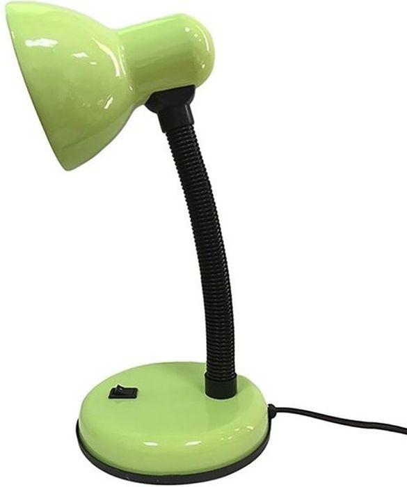 Светильник настольный REV, универсальный, цвет: зеленый. 25051 725051 7_зеленыйСветильник настольный REV предназначен для местного освещения в офисе или дома. Идеально подходит для чтения и выполнения домашних заданий детьми, равно как и для работы с бумагами или за компьютером. Подвижная ножка позволяет регулировать направление излучаемого света. На круглом основании расположена кнопка включения/выключения. Светильник работает от сети 220V.