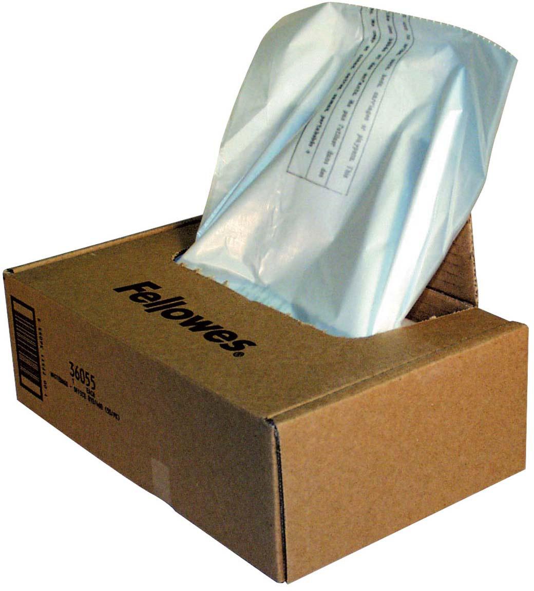 Fellowes мешки для уничтожителей, 165 литров (50 шт) -  Офисные принадлежности