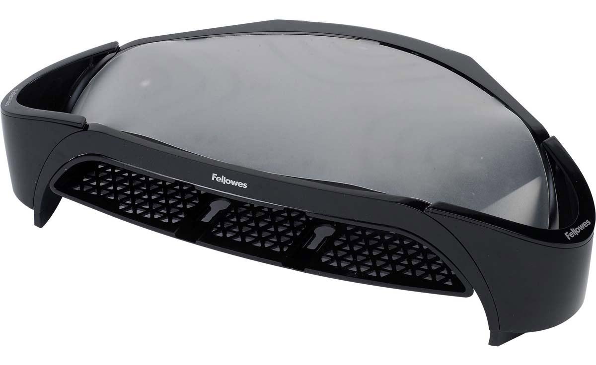 Fellowes Smart Suites Plus подставка под мониторFS-80208Подставка под монитор Smart Suites FS-80208 предназначена для ЭЛТ/TFT мониторов. Идеальна для максимальной экономии и организации рабочего пространства.Регулируемая высота.Максимальная нагрузка 10кг. или 21 монитор.Включает лоток для писем и 2 отделения для хранения мелочей.Совместима с Подставкойдля ноутбука Smart Suites Laptop Riser c USB хабом FS-8020301.