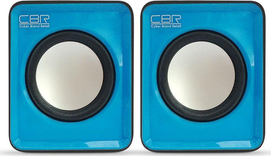 CBR CMS 90, Blue акустическая системаCMS 90 BlueЛинейка акустических систем от CBR пополнилась новой моделью - CMS 90. Уникальность устройства заключается не только в удачном сочетании параметров цена-качество, но и в простоте и удобстве использования. Чтобы активизировать работу колонок - достаточно подключить их к USB порту и разъему jack 3,5 мм ПК или ноутбука. Контроль громкости обеспечивает регулятор, находящийся на задней панели колонок. Еще одним плюсом системы является ее компактная конфигурация. Колонки не займут много места на рабочем столе или в сумке с ноутбуком.Выходная мощность RMS -3 Вт (2 х 1,5)Диаметр динамиков - 4,5 смЧастотный диапазон - 20-20000 ГцОтношение сигнал/шум - 60 дБМатериал корпуса -ABS-пластикИсточник питания - USB-портИнтерфейс соединения -проводное 3,5 ммРегулятор громкости - Есть
