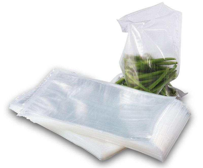Solis Vac, 20 х 30 см пакеты для вакуумного упаковщика (50 шт)Vac 20*30Комплект из 50 профессиональных пакетов размером 20 x 30 см для вакуумной упаковки. Ребристая внутренняя поверхность предназначена для оптимального вакуумирования. Высокая прочность пакета допускает замораживание, использование в СВЧ печи, а также готовку по технологии Sous-Vide.