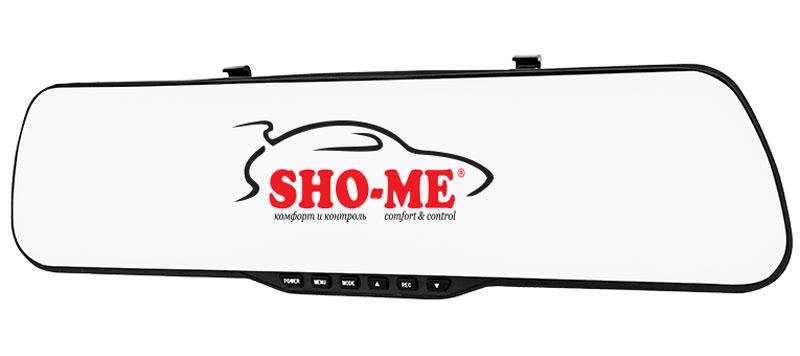 Sho-Me SFHD 400, Black видеорегистраторSFHD 400Видеорегистратор Sho-Me SFHD 400 встроен в зеркало заднего вида, что позволяет ему вписаться в интерьер большинства автомобилей как штатное.Sho-Me SFHD 400 станет вашим честным свидетелем во время дорожно-транспортного происшествия и поможет доказать собственную невиновность, поэтому весьма важно, чтобы устройство соответствовало всем современным требованиям.Номерной знак можно прочитать с расстояния до 20 метром от капота. Широкоугольный объектив позволяет захватить более широкий диапазон дорожного полотна.За счет встроенного G-сенсора происходит автоматическая блокировка файла во время аварии. Данная функция будет весьма полезна для пользователей, которые собираются оставлять регистратор включенным на парковке или стоянках.Процессор: Novatek 96220, матрица: H22Формат записи/видеокодек: AVI / Motion JPEGВстроенная литий-ионовая батареяЦиклическая записьРабочая температура: от -20°С до +60°С