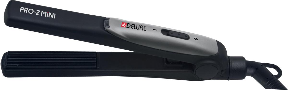 Dewal Pro-ZMini 03-19M, щипцы-гофре03-019MЩипцы-гофре Dewal Pro-ZMini 03-19M превосходно придают форму волосам от корней до кончиков волос и за несколько минут создадут Ваш неповторимый динамичный и модный стиль. Устройство нагревается буквально за несколько секунд. Термостойкий корпус позволяет избежать ожогов кожи рук и головы.Керамическое покрытие полотен Размер полотен: 15 мм х 60 мм Тип полотен: мелкое гофре