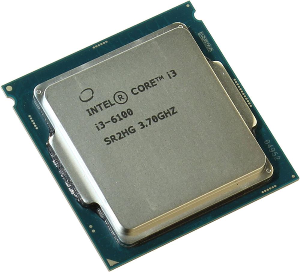 Intel Core i3-6100 процессор323426Core i3-6100 - процессор для настольных персональных компьютеров, основанных на платформе Intel.В основе лежит архитектура Skylake, что позволяет оптимизировать работу двух ядер и четырех потоков, функционирующих на частоте 3,7 ГГц. Дополнительное быстродействие обеспечивается кэш-памятью третьего уровня объемом 3072 КБ. Обработка изображения перед демонстрацией его на мониторе ПК осуществляется графическим процессором Intel HD Graphics 530.Для двусторонней передачи данных между Intel Core i3-6100 и оперативной памятью компьютера предусмотрен встроенный контроллер, поддерживающий модули размером до 64 ГБ. Также в данной модели установлены контроллер PCI-E 3.0 и системная шина DMI 3.0, которые используются для связи с другими элементами ПК.