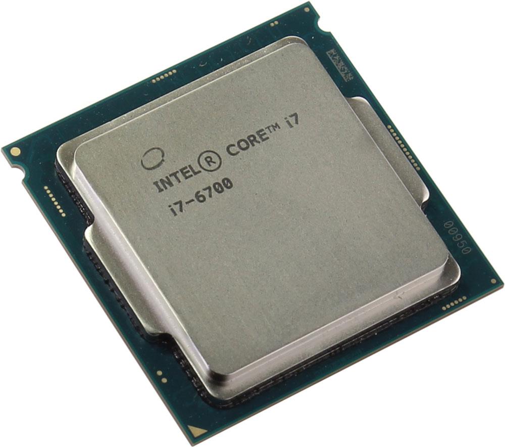 Intel Core i7-6700 процессор378628Core i7-6700 - процессор для настольных персональных компьютеров, основанных на платформе Intel.В основе лежит архитектура Skylake, что позволяет оптимизировать работу четырех ядер и восьми потоков, функционирующих на частоте 3,4 ГГц (4 ГГц в режиме Turbo Boost). Дополнительное быстродействие обеспечивается кэш-памятью третьего уровня объемом 8 МБ. Обработка изображения перед демонстрацией его на мониторе ПК осуществляется графическим процессором Intel HD Graphics 530.Для двусторонней передачи данных между Intel Core i7-6700 и оперативной памятью компьютера предусмотрен встроенный контроллер, поддерживающий модули DDR4/DDR3L размером до 64 ГБ. Также в данной модели установлены контроллер PCI-E 3.0 и системная шина DMI 3.0, которые используются для связи с другими элементами ПК.
