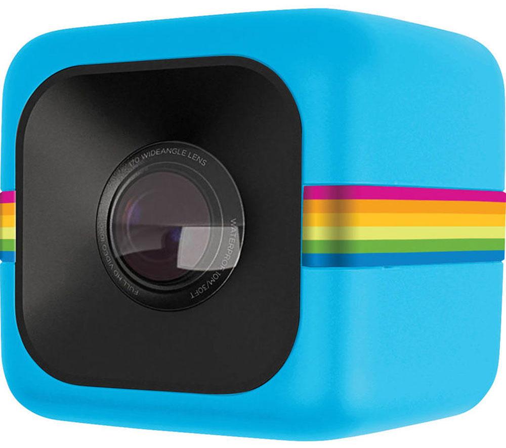 Polaroid Cube+, Blue экшн-камера - Цифровые видеокамеры