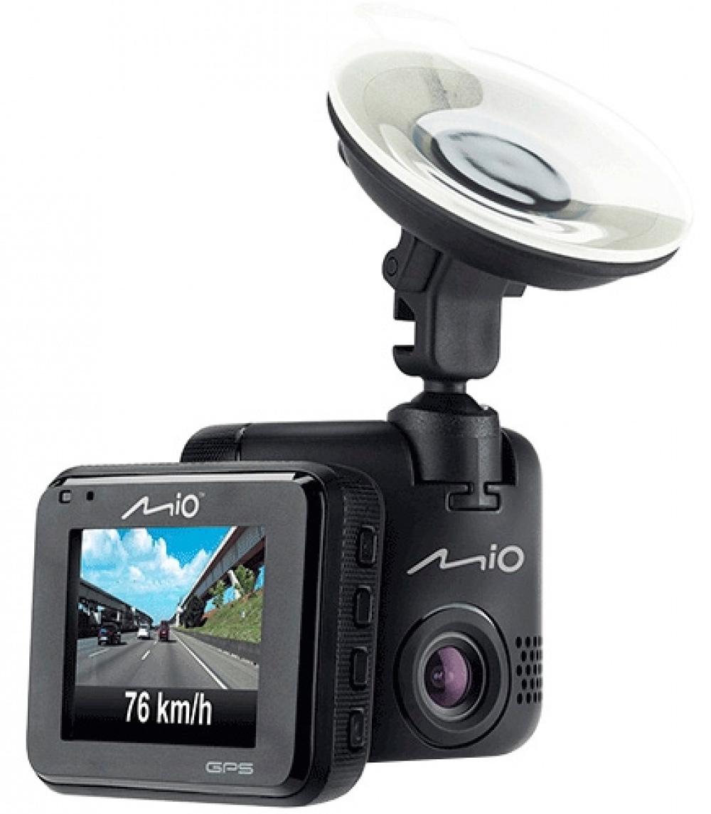 Mio MiVue C330, Black видеорегистратор5415N5300009Mio MiVue C330 - компактная модель с GPS приемником. Регистратор отображает дату, время, скорость и координаты сделанной записи, а также позволяет добавить государственный номер автомобиля, на котором установлен видеорегистратор.Наличие встроенного GPS приемника в видеорегистраторе, позволяет непрерывно записывать информацию о местоположении, скорости и высоте над уровнем моря, а так же предупреждать о приближении к камерам контроля скорости.Хранитель экрана (HUD)Чтобы не отвлекать вас во время вождения, на дисплее будет указана текущая скорость движения и точное время. При приближении к камерам контроля скорости, на экране появится предупреждение об ограничении.Ручная установка экспозиции видеорегистратора позволяет в сложных условиях освещённости, таких как снегопад или яркие солнечные лучи, регулировать яркость видео.При срабатывании датчика удара, видеорегистратор мгновенно начинает запись нестираемого видео для последующего анализа события и помещает его в нестираемый буфер памяти.Передовая оптическая система состоит из 5 высококачественных стеклянных линз и инфракрасного фильтра. Они пропускают больше света и создают более яркую и чёткую картинку.Широкий угол обзора 130° позволяет получить полную картину всегда и везде.Пользователь самостоятельно может добавлять камеры контроля скорости на дороге.Апертура: F2.0