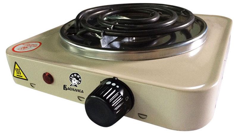 Василиса ПЭ2-1000, Lactic плитка электрическаяПЭ2-1000Электрическая плитка Василиса ПЭ2-1000 пригодится дома и на даче, в студенческом общежитии или на маленькой кухне. Плитка имеет надежное эмалевое покрытие, которое легко чистится, устойчиво к истиранию и долго сохраняет отличный внешний вид. О том, что нагревательный элемент подключен к сети, сигнализирует красный индикатор. Мощность ТЭНа составляет 1 кВт, ее можно регулировать при помощи поворотного переключателя-термостата.