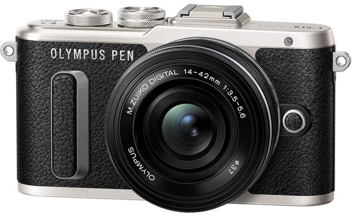 Olympus PEN E-PL8 Kit 14-42 EZ, Black фотокамера - Цифровые фотоаппараты