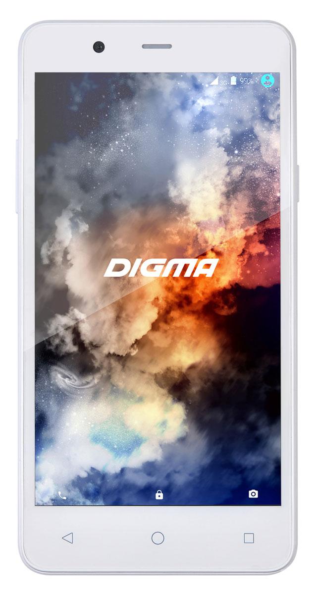 Digma Linx A501 4G, WhiteLT5010PLСмартфон Digma Linx A501 4G - компактная модель с 5-дюймовым сенсорным экраном и небольшими размерами, которые дают возможность управления функциями устройства одной рукой и помогают потреблять совсем небольшое количество энергии. Заряда батареи смартфона хватает примерно для 14 часов разговора или 25 дней работы в режиме ожидания.Встроенный передатчик Wi-Fi позволяет вам быстро установить соединение с точкой доступа. Две SIM-карты дают возможность сочетать наиболее выгодные тарифные планы для голосового общения или мобильного интернета. Современный четырехъядерный процессор легко справляется с работой в режиме многозадачности.Смартфон Digma Linx A501 4G оснащен двумя камерами: основная 5-мегапиксельная со светодиодной вспышкой поможет вам получить четкие снимки даже при слабом освещении. Фронтальная камера с разрешением 0,3 мегапикселя позволит делать звонки по видеосвязи.Функция GPS без труда определит местоположение пользователя, поможет построить маршрут или отметить интересующую вас точку на местности. Телефон сертифицирован EAC и имеет русифицированную клавиатуру, меню и Руководство пользователя.