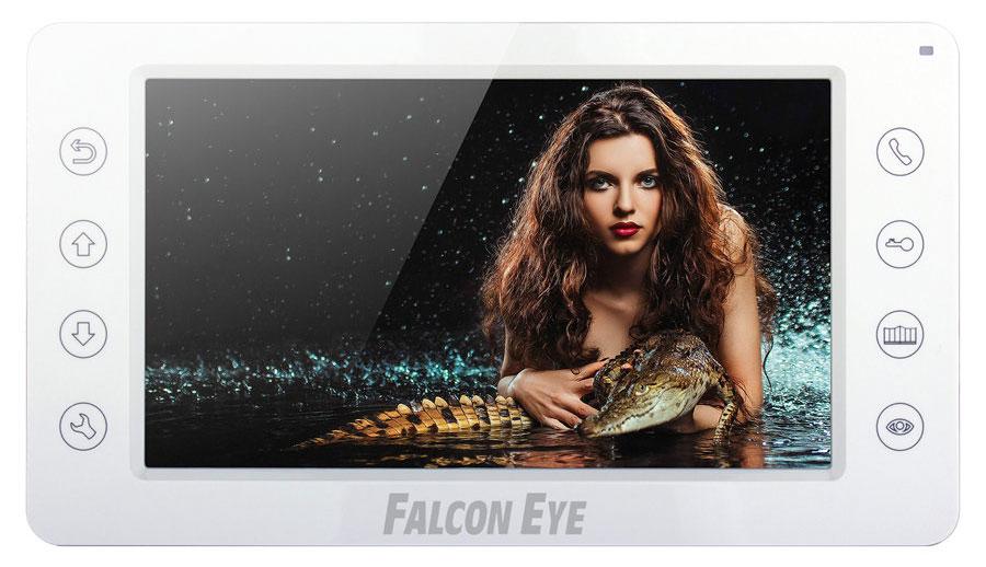 Falcon Eye FE-70C видеодомофонFE-70CВидеодомофон Falcon Eye FE-70C имеет цветной экран с диагональю 7 дюйма и кнопочное управление. Вы можете подключить к нему 2 вызывные панели. Доступно также и подключение к подъездному координатному и цифровому домофону (с помощью блока сопряжения). Домофон имеет встроенный блок питания, что позволяет без проблем запитать его от сети 220В. Кроме того, данная модель поддерживает и внешние блоки питания DC 12В (например, для подключения домофона к резервированному источнику питания).