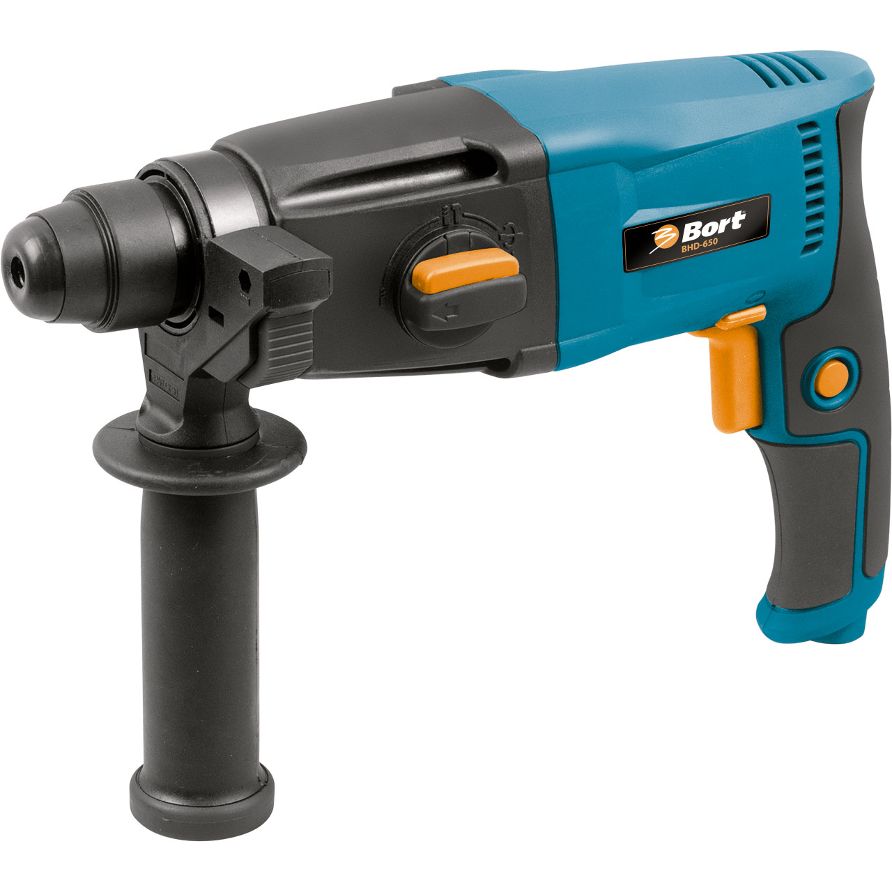 Перфоратор электрический Bort BHD-650  bort bhd 901 98293647 электрический перфоратор blue