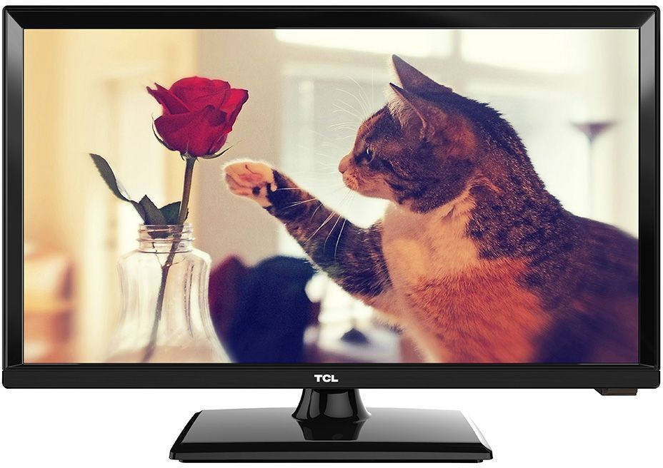 TCL LED20D2710, Black телевизорLED20D2710Телевизор TCL LED20D2710 успешно совмещает в себе все функции, присущие полноценному развлекательному медиацентру. Сочетание превосходного изображения и современных технологий предоставит вам возможность насладиться невероятно четким и ярким изображением. Источником сигнала для качественной реалистичной картинки служат не только цифровые эфирные и кабельные каналы, но и любые записи с внешних носителей, благодаря универсальному встроенному USB медиаплееру. Телевизор поддерживает все популярные форматы.Устройство имеет ряд умных функций. Например, таких как телетекст, таймер сна, родительский контроль.Звук Dolby Digital сделает обладателя ТВ участником событий вместе с киногероями. Стереофонический, мощный, обогащенный басами звук никого не оставит равнодушным.Стильный корпус легко впишется в любой интерьер, а специальная возможность крепления телевизора на стену позволит разместить устройство с максимальным удобством.