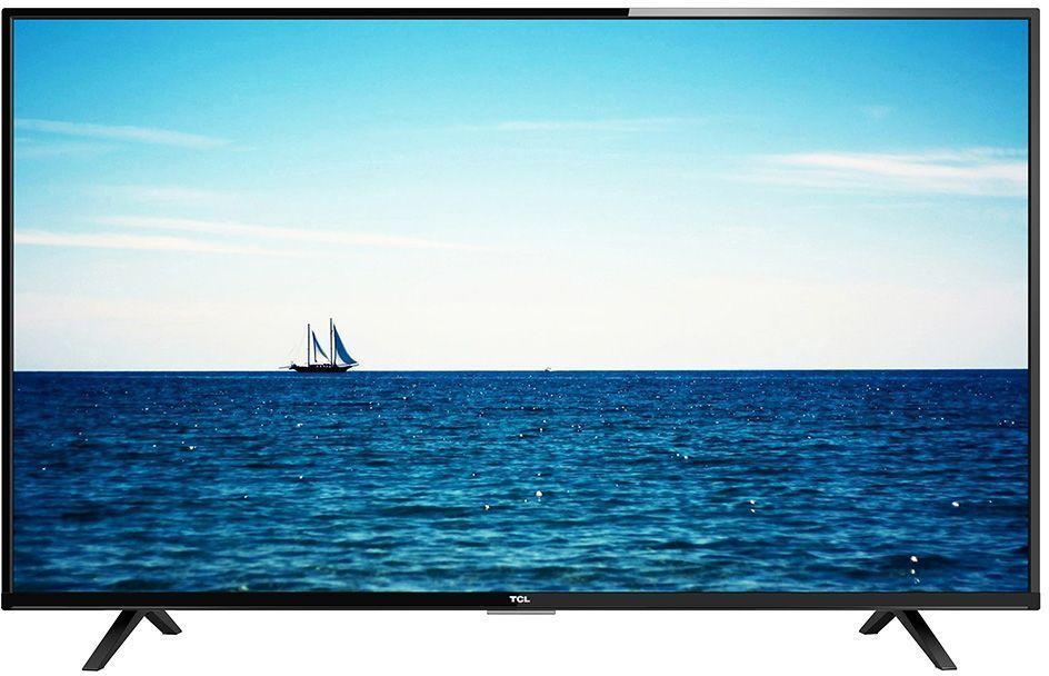TCL LED55D2740B, Black телевизорLED55D2740BТелевизор TCL LED55D2740B успешно совмещает в себе все функции, присущие полноценному развлекательному медиацентру. Сочетание превосходного изображения и современных технологий предоставит вам возможность насладиться невероятно четким и ярким изображением. Разрешение Full HD 1080p отвечает стандартам высокой четкости, отображая на экране 1080 (прогрессивных) линий разрешения, для более четкого и детального изображения.Smart-телевизор TCL откроет для вас новый мир, объединяющий сотни и тысячи телеканалов, интернет-серфинг и вселенные онлайн-игр. Загружайте любимые фильмы, делитесь своими лучшими фотографиями и видеозаписями в социальных сетях, слушайте музыку и узнавайте интересующие вас новости с помощью удобных предустановленных приложений.Звук Dolby Digital Plus сделает обладателя ТВ участником событий вместе с киногероями. Стереофонический, мощный, обогащенный басами звук никого не оставит равнодушным.Тюнер DVB-T2 позволяет без дополнительного оборудования смотреть телеканалы в цифровом качестве без помех.Стильный корпус легко впишется в любой интерьер, а специальная возможность крепления телевизора на стену позволит разместить устройство с максимальным удобством.