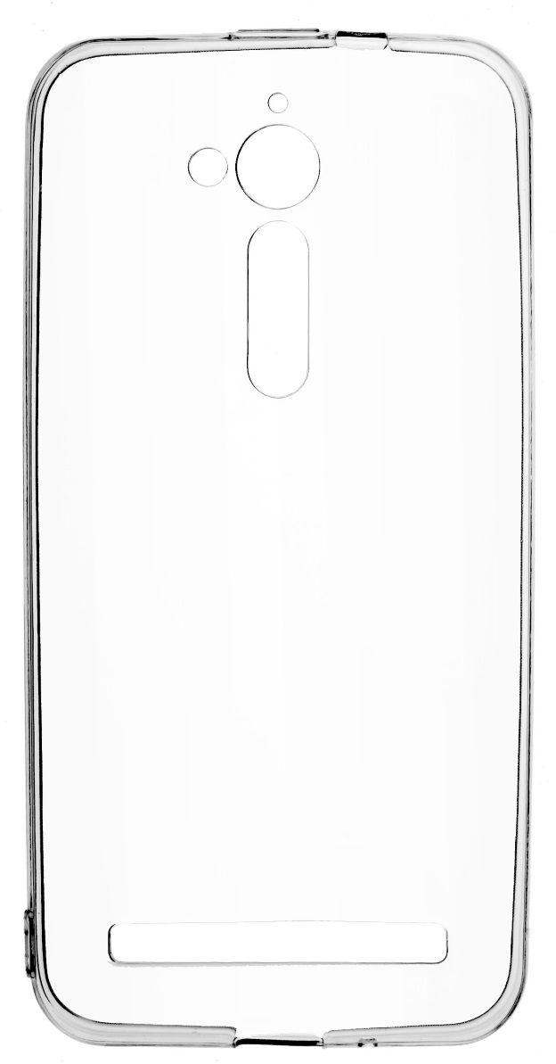 Skinbox Slim Silicone 4People чехол для ASUS ZenFone Go (ZB500KG), Transparent2000000124933Чехол надежно защищает ваш смартфон от внешних воздействий, грязи, пыли, брызг. Он также поможет при ударах и падениях, не позволив образоваться на корпусе царапинам и потертостям. Чехол обеспечивает свободный доступ ко всем функциональным кнопкам смартфона и камере.