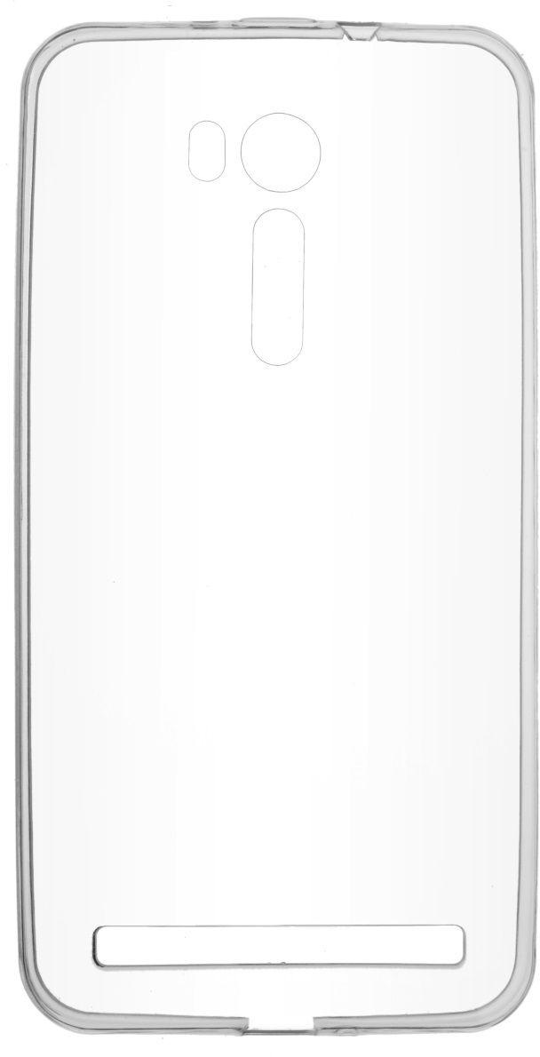 Skinbox Slim Silicone 4People чехол для ASUS ZenFone Go (ZB552KL), Transparent2000000124940Чехол надежно защищает ваш смартфон от внешних воздействий, грязи, пыли, брызг. Он также поможет при ударах и падениях, не позволив образоваться на корпусе царапинам и потертостям. Чехол обеспечивает свободный доступ ко всем функциональным кнопкам смартфона и камере.