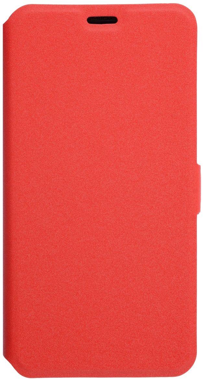 Prime Book чехол для Meizu M5 Note, Red2000000132297Чехол надежно защищает ваш смартфон от внешних воздействий, грязи, пыли, брызг. Он также поможет при ударах и падениях, не позволив образоваться на корпусе царапинам и потертостям. Чехол обеспечивает свободный доступ ко всем функциональным кнопкам смартфона и камере.
