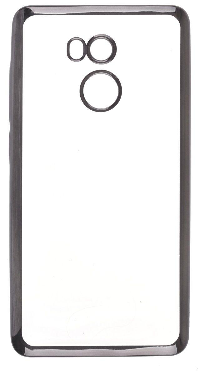 Skinbox Silicone Chrome Border 4People чехол для Xiaomi RedMi 4, Dark Silver2000000125305Чехол надежно защищает ваш смартфон от внешних воздействий, грязи, пыли, брызг. Он также поможет при ударах и падениях, не позволив образоваться на корпусе царапинам и потертостям. Чехол обеспечивает свободный доступ ко всем функциональным кнопкам смартфона и камере.