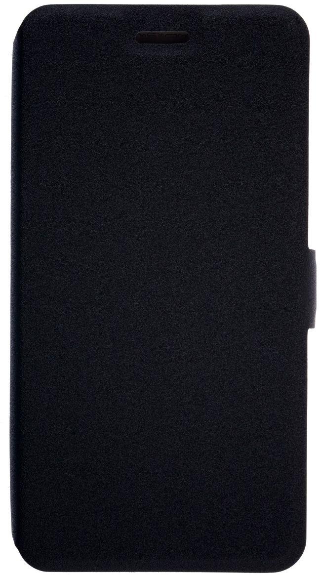 Prime Book чехол для ZTE Blade A510, Black2000000126746Чехол надежно защищает ваш смартфон от внешних воздействий, грязи, пыли, брызг. Он также поможет при ударах и падениях, не позволив образоваться на корпусе царапинам и потертостям. Чехол обеспечивает свободный доступ ко всем функциональным кнопкам смартфона и камере.