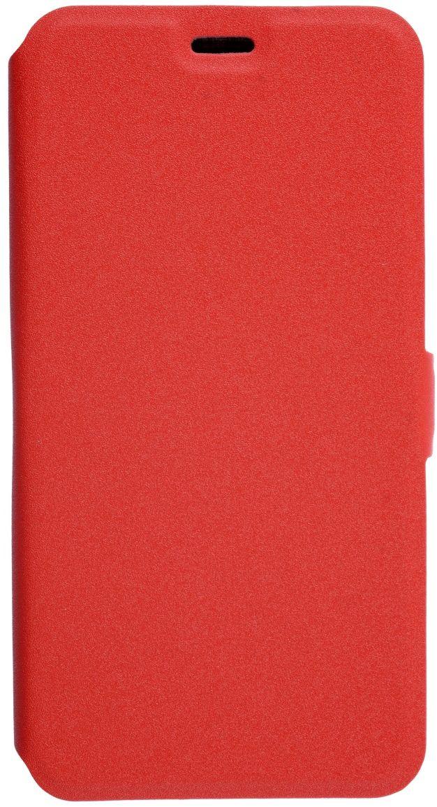 Prime Book чехол для ASUS Zenfone 3 Max (ZC553KL), Red2000000132259Чехол надежно защищает ваш смартфон от внешних воздействий, грязи, пыли, брызг. Он также поможет при ударах и падениях, не позволив образоваться на корпусе царапинам и потертостям. Чехол обеспечивает свободный доступ ко всем функциональным кнопкам смартфона и камере.