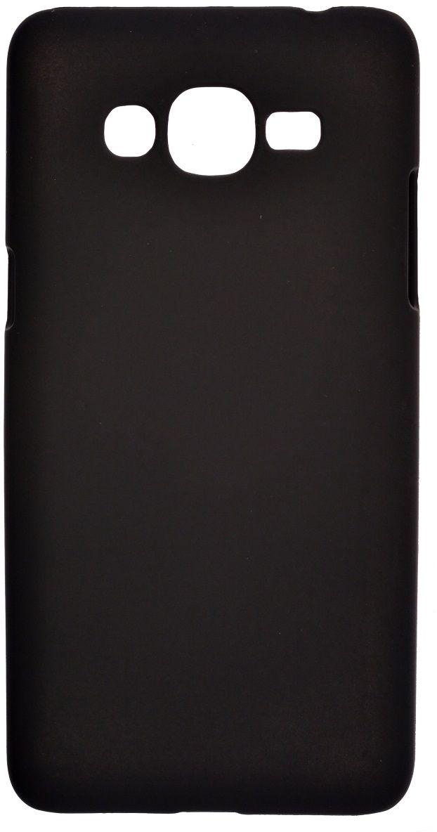 Skinbox 4People чехол + пленка для Samsung Galaxy J2 Prime, Black2000000122670Чехол надежно защищает ваш смартфон от внешних воздействий, грязи, пыли, брызг. Он также поможет при ударах и падениях, не позволив образоваться на корпусе царапинам и потертостям. Чехол обеспечивает свободный доступ ко всем функциональным кнопкам смартфона и камере.