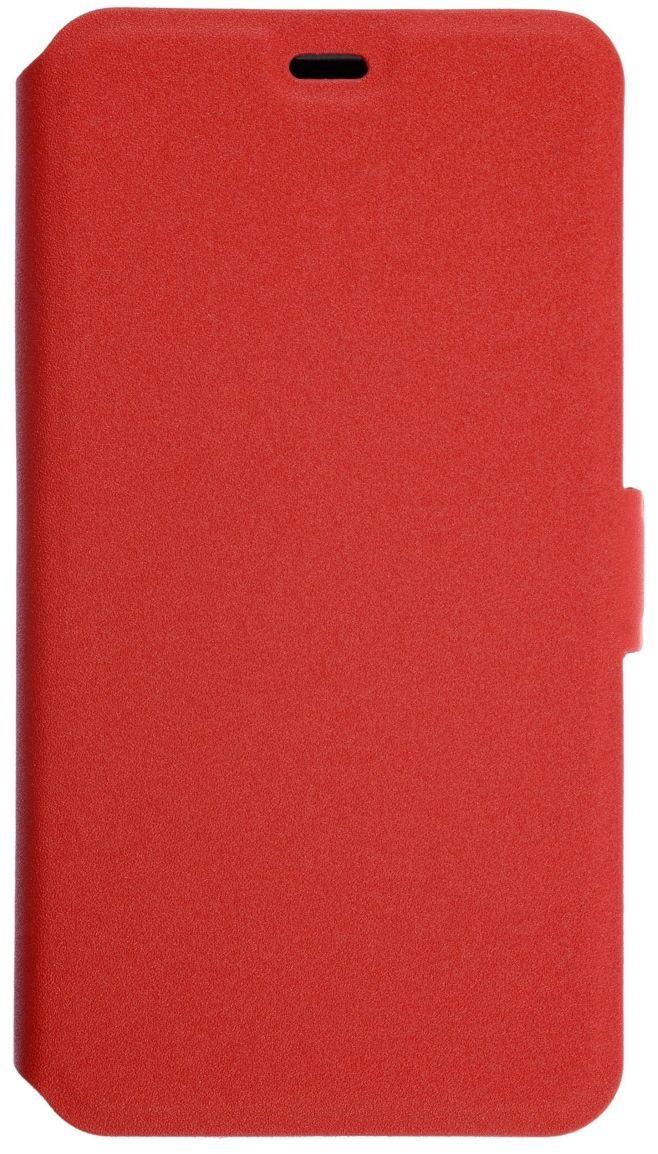 Prime Book чехол для Xiaomi RedMi 4A, Red2000000131870Чехол надежно защищает ваш смартфон от внешних воздействий, грязи, пыли, брызг. Он также поможет при ударах и падениях, не позволив образоваться на корпусе царапинам и потертостям. Чехол обеспечивает свободный доступ ко всем функциональным кнопкам смартфона и камере.