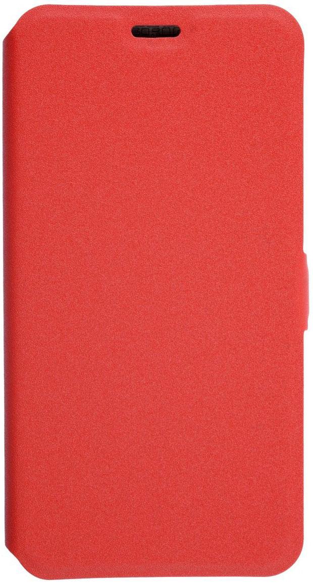 Prime Book чехол для Meizu M5, Red2000000132273Чехол надежно защищает ваш смартфон от внешних воздействий, грязи, пыли, брызг. Он также поможет при ударах и падениях, не позволив образоваться на корпусе царапинам и потертостям. Чехол обеспечивает свободный доступ ко всем функциональным кнопкам смартфона и камере.