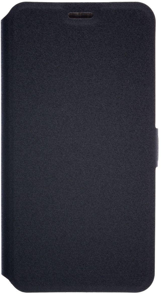 Prime Book чехол для Meizu M5, Black2000000132280Чехол надежно защищает ваш смартфон от внешних воздействий, грязи, пыли, брызг. Он также поможет при ударах и падениях, не позволив образоваться на корпусе царапинам и потертостям. Чехол обеспечивает свободный доступ ко всем функциональным кнопкам смартфона и камере.