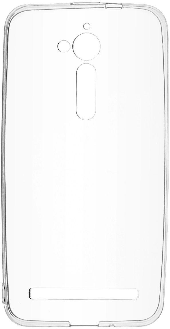 Skinbox Slim Silicone 4People чехол для ASUS ZenFone Go (ZB500KL), Transparent2000000127Чехол надежно защищает ваш смартфон от внешних воздействий, грязи, пыли, брызг. Он также поможет при ударах и падениях, не позволив образоваться на корпусе царапинам и потертостям. Чехол обеспечивает свободный доступ ко всем функциональным кнопкам смартфона и камере.