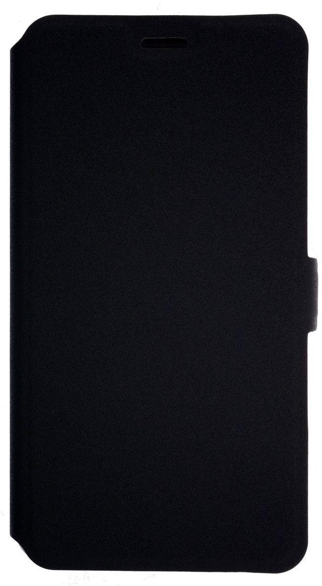 Prime Book чехол для Huawei Honor 6X, Black2000000135052Чехол надежно защищает ваш смартфон от внешних воздействий, грязи, пыли, брызг. Он также поможет при ударах и падениях, не позволив образоваться на корпусе царапинам и потертостям. Чехол обеспечивает свободный доступ ко всем функциональным кнопкам смартфона и камере.