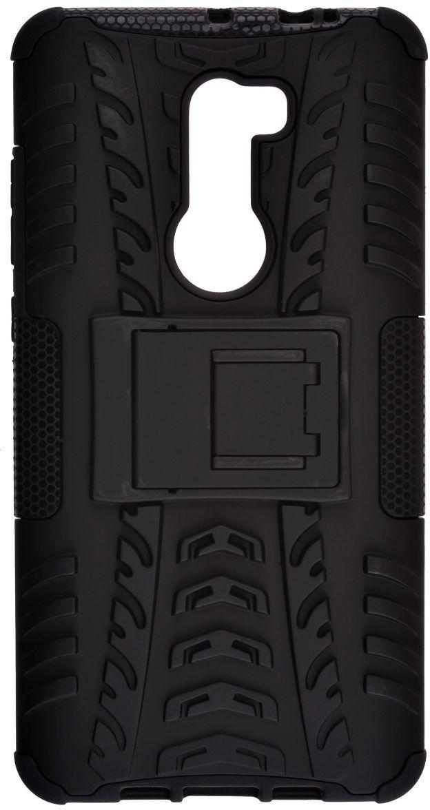 Skinbox Defender Case чехол для Xiaomi Mi5S Plus, Black2000000110905Чехол надежно защищает ваш смартфон от внешних воздействий, грязи, пыли, брызг. Он также поможет при ударах и падениях, не позволив образоваться на корпусе царапинам и потертостям. Чехол обеспечивает свободный доступ ко всем функциональным кнопкам смартфона и камере.