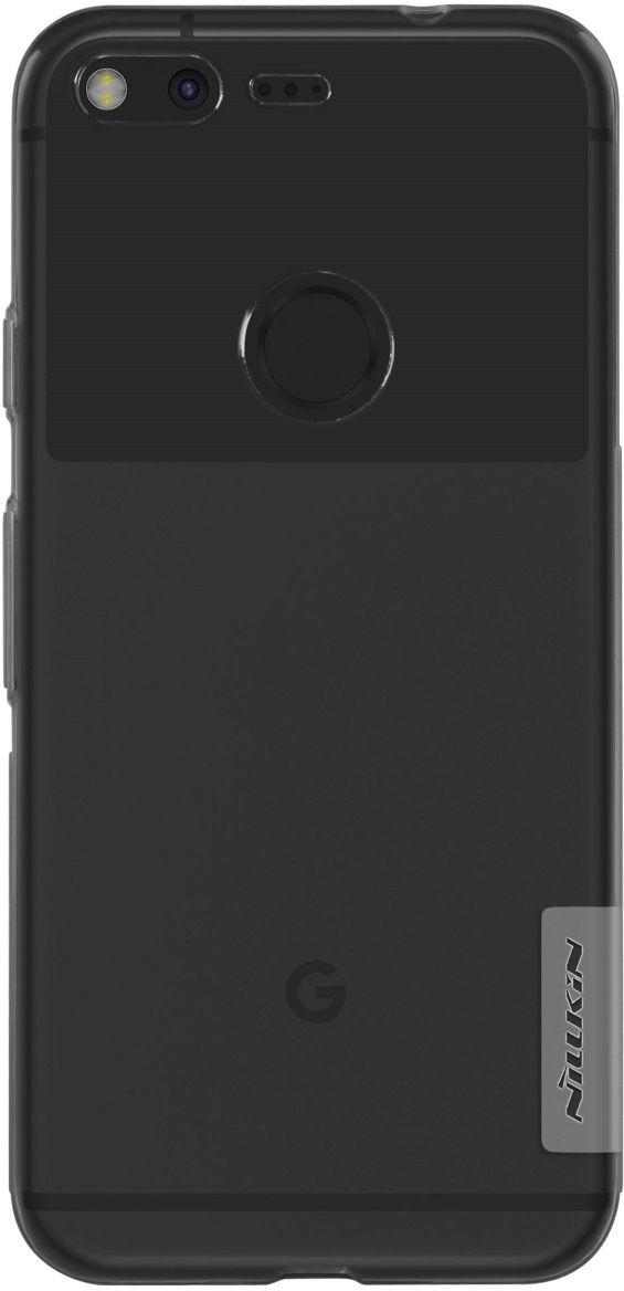 Nillkin Nature TPU Case чехол для Google Pixel, Gray2000000115146Чехол надежно защищает ваш смартфон от внешних воздействий, грязи, пыли, брызг. Он также поможет при ударах и падениях, не позволив образоваться на корпусе царапинам и потертостям. Чехол обеспечивает свободный доступ ко всем функциональным кнопкам смартфона и камере.