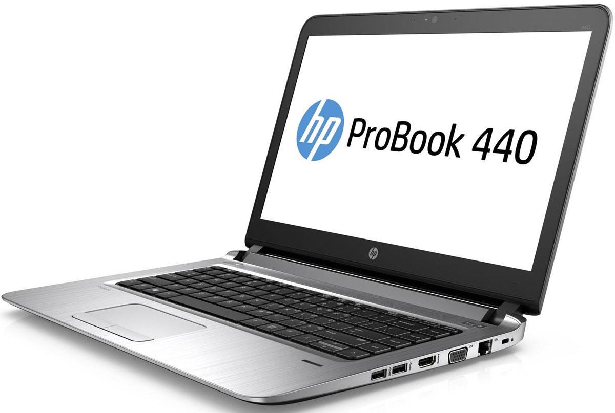 HP ProBook 440 G3, Metal Gray (X0N42EA)X0N42EA#ACBТонкий, легкий, прочный корпус HP ProBook 440 G3 предоставляет мобильным сотрудникам необходимые возможности для эффективной работы за пределами офиса. Эта высокопроизводительная модель HP ProBook обладает рабочими характеристиками и параметрами безопасности, необходимыми для современных мобильных сотрудников.Идеальное решение для специалистов в компаниях малого и среднего бизнеса, которым необходим приемлемый по цене ноутбук, сочетающий в себе инновационные технологии, эффективные средства защиты и передовые функции работы с мультимедиа.С легкостью выполняйте любые проекты благодаря процессорам Intel Core 6-го поколения и дополнительной дискретной видеокарте AMD Radeon с поддержкой переключения графических адаптеров.Защита конфиденциальных данных обеспечивается с помощью комплексных средств безопасности, таких как HP BIOSphere, и встроенного модуля TPM.Оцените широкие возможности и удобство использования HP ProBook 440, длительное время автономной работы и великолепное качество изображения и звука благодаря дополнительному дисплею Full HD.Ноутбук ProBook разработан в соответствии со стандартом MIL-STD-810G, поэтому он идеально подходит для тяжелых рабочих нагрузок.Точные характеристики зависят от модификации.Ноутбук сертифицирован EAC и имеет русифицированную клавиатуру и Руководство пользователя.